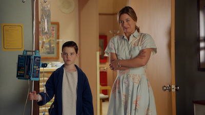 Young Sheldon 02x12 : A Tummy Ache and a Whale of a Metaphor- Seriesaddict